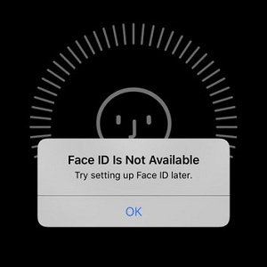 Face ID iphone No Funciona